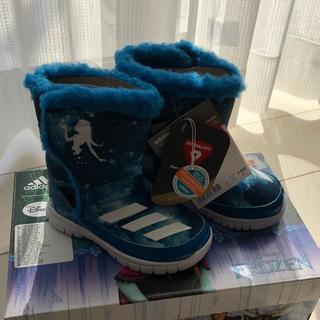 アディダス(adidas)の新品 14cm アディダス アナ雪 スノーブーツ(ブーツ)