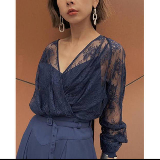 Ameri VINTAGE - LADY LACE VEIL DRESS 完売品 結婚式