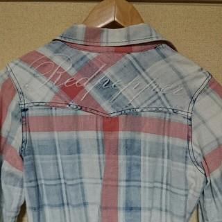 レッドペッパー(REDPEPPER)のレッドペーパー チェックネルシャツ☆ユニセックス(シャツ/ブラウス(長袖/七分))