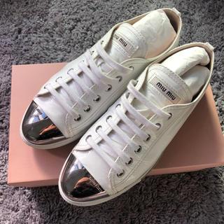 miumiu - miumiu スニーカー 靴