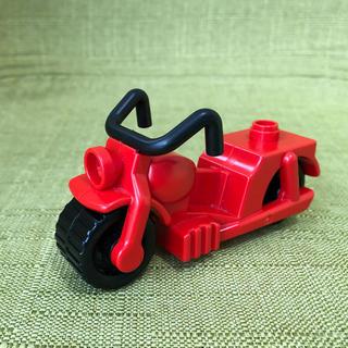 Lego - レゴ デュプロ バイク 赤