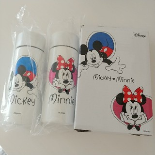 Disney - ミッキー ミニー ステンレスボトル 新品