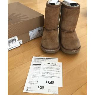 UGG - UGG ムートンブーツ17センチus11アグキッズクラシック15〜17cm