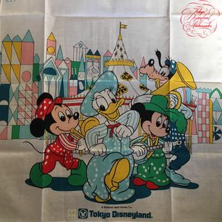 Disney - ディズニー ハンカチ  レトロ