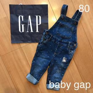 babyGAP - 新品★baby gapデニムサロペット80