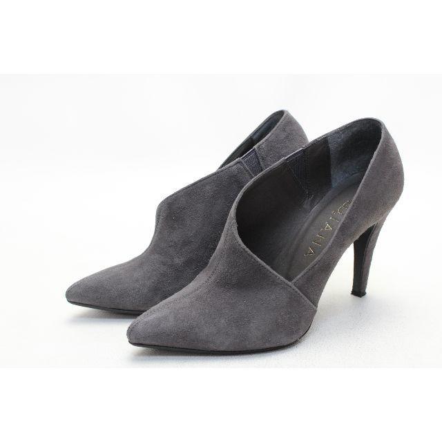 DIANA(ダイアナ)の57■DIANA 本革ポインテッドブーティー(22cmTS)美品 レディースの靴/シューズ(ブーティ)の商品写真