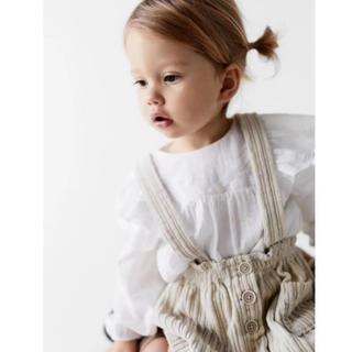 ZARA KIDS - ワイドウェールコーデュロイスカート