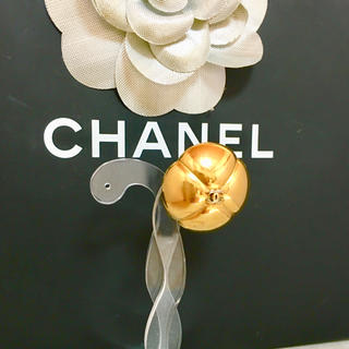 CHANEL - 正規品 シャネル イヤリング 片方 ゴールド ココマーク 花 フラワー 金 ロゴ