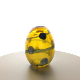 イッタラ(iittala)の*売約済み* Blue Scaup Duck 's Egg 箱なし バード(置物)