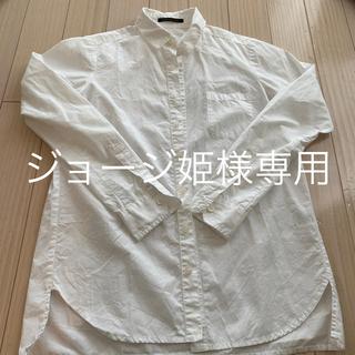 バンヤードストーム(BARNYARDSTORM)のバンヤードストーム ホワイト シャツ (シャツ/ブラウス(長袖/七分))