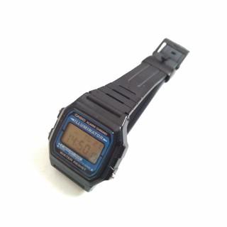 CASIO - ★動作品です CASIOカシオ 腕時計 F-105W-1A ブラック