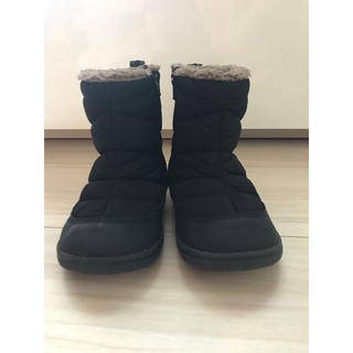 ズーム(Zoom)の黒 16cm ブーツ スノーブーツ(ブーツ)
