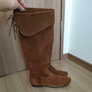 フレームワーク(FRAMeWORK)のフレームワークにて購入 JOESANCHEZ スエードロングブーツ(ブーツ)