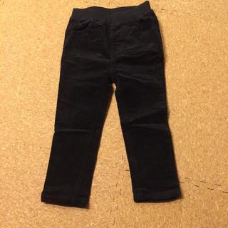 プティマイン(petit main)のプティマイン  90cm コーデュロイ 黒長ズボン(パンツ/スパッツ)