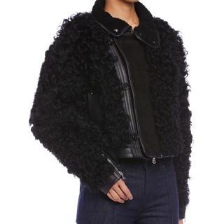 ブラックゴールド(BLACK GOLD)の新品 DIESEL black gold ジャケット シープ 羊(毛皮/ファーコート)