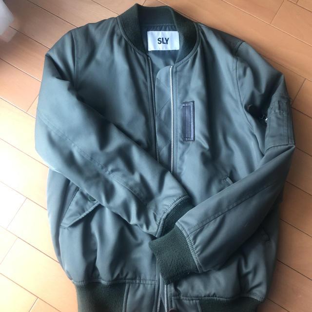SLY(スライ)のMA-1♡ レディースのジャケット/アウター(ブルゾン)の商品写真