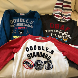 DOUBLE.B - ダブルビー  トップス 3点セット 中古