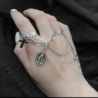 アンクルージュ(Ank Rouge)のBLACK BUNNYS fancy ring(リング(指輪))
