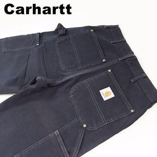 カーハート(carhartt)のカーハートCarhartt ダブルニー ダック地ペインターパンツW31約75cm(ワークパンツ/カーゴパンツ)