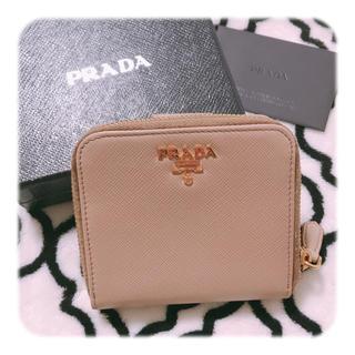プラダ(PRADA)の⸜❤︎⸝PRADA 二つ折りラウンド財布(折り財布)