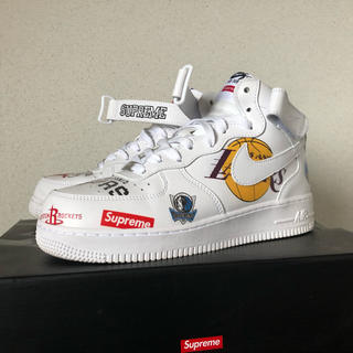 Supreme - NIKE supreme AIR FORCE 1