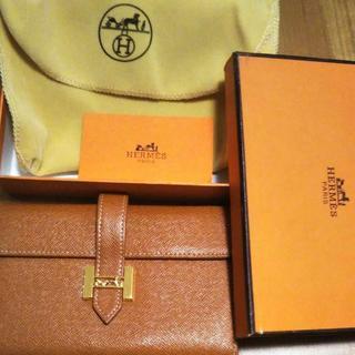 Hermes - 美品◎エルメス☆ブラウン折り財布