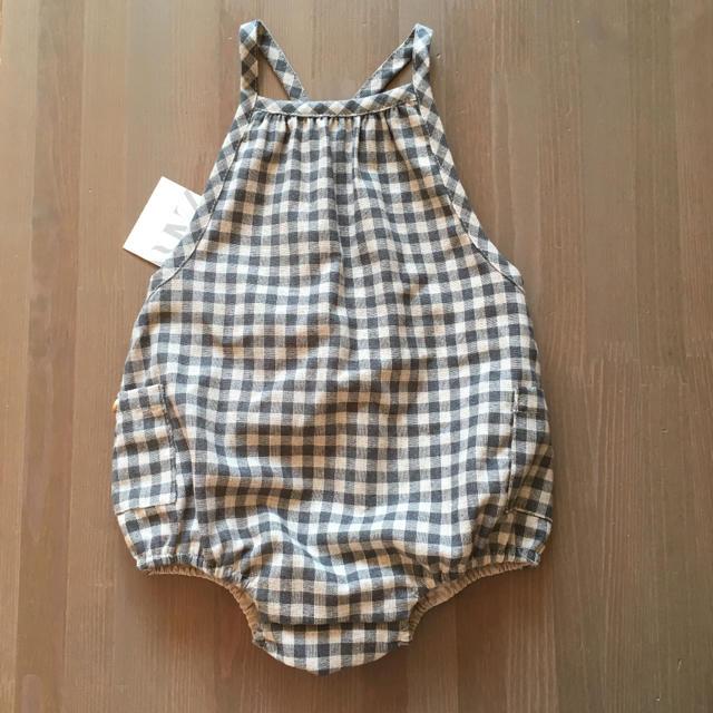 ZARA KIDS(ザラキッズ)の新品 ザラベイビー  ロンパース ボンポワン ボントン べべ プチバトー キッズ/ベビー/マタニティのベビー服(~85cm)(ロンパース)の商品写真