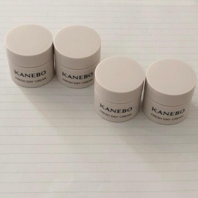 Kanebo(カネボウ)のカネボウ フレッシュ デイクリーム 2.8ml 4つセット コスメ/美容のスキンケア/基礎化粧品(フェイスクリーム)の商品写真