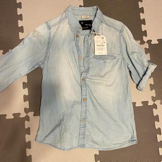 ザラキッズ(ZARA KIDS)のZARA BOYS キッズ 新品デニムシャツ(Tシャツ/カットソー)