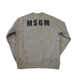 エムエスジイエム(MSGM)のMSGM ロゴ スウェット  新品 タグあり 本物正規品(トレーナー/スウェット)