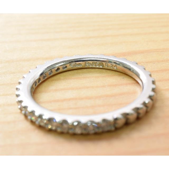STAR JEWELRY(スタージュエリー)のスタージュエリー Pt950 ダイヤ ハーフエタニティ レディースのアクセサリー(リング(指輪))の商品写真
