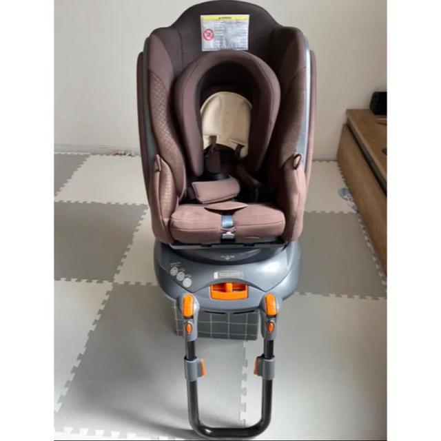 Aprica(アップリカ)のアップリカ 新生児から チャイルドシート キッズ/ベビー/マタニティの外出/移動用品(自動車用チャイルドシート本体)の商品写真
