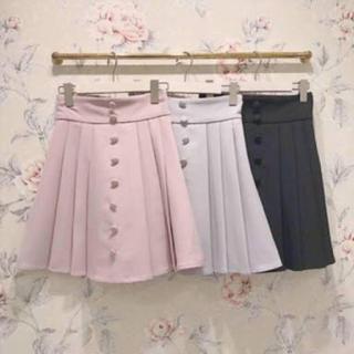 evelyn - エブリン くるみボタン スカート