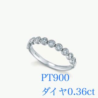 アガット(agete)の定価21万 agete ブライダル ダイヤモンドリング pt900 エタニティ(リング(指輪))