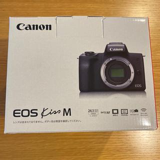 Canon - 【新品】Canon キヤノン EOS Kiss M ブラック ボディ