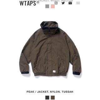 W)taps - 付属タグ有‼️ WTAPS ‼️ PEAK JACKET.NYLONTUSSAH