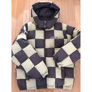 Supreme - supreme Checkerboard Puffy Jacket Mサイズ