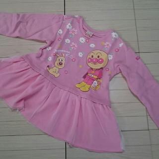 アンパンマン(アンパンマン)のアンパンマン☆裾チュール長袖シャツ(110cm・新品未着用)(Tシャツ/カットソー)