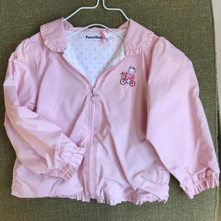 familiar - ファミリア  ジャケット 90 ピンク 女の子