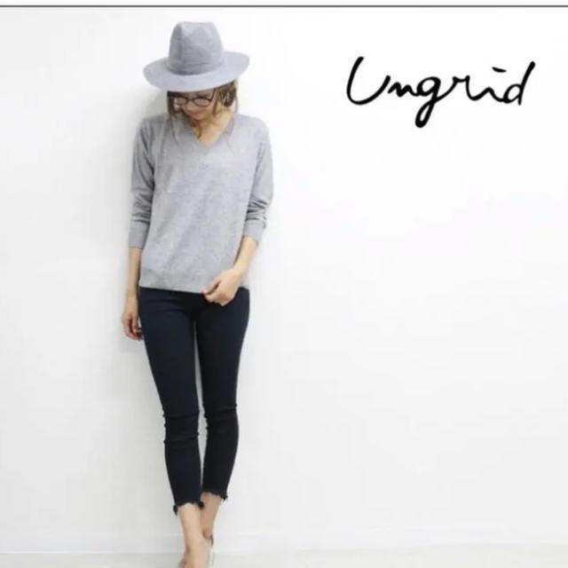 Ungrid(アングリッド)の【2019A/W新作】 UNGRIDアングリッド デニム パンツ スキニー 26 レディースのパンツ(スキニーパンツ)の商品写真