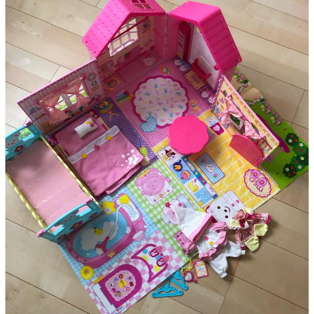 PILOT(パイロット)の☆メルちゃん なかよしハウス 中古品☆ キッズ/ベビー/マタニティのおもちゃ(ぬいぐるみ/人形)の商品写真