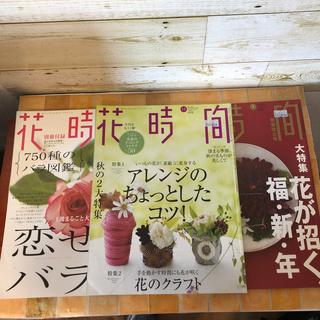 カドカワショテン(角川書店)の花時間 3冊セット(趣味/スポーツ/実用)