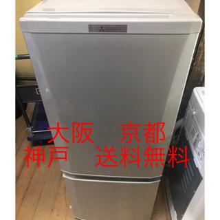 ミツビシ(三菱)の三菱 ノンフロン冷凍冷蔵庫  MR-P15Z-S1  2016年製 (冷蔵庫)