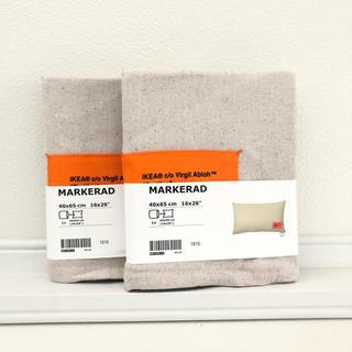 IKEA - 【新品未使用】イケア×バージルアブロー マルケラッド クッションカバー2set