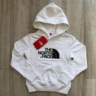THE NORTH FACE - 【海外限定】TNF ノースフェイス キッズ パーカー ホワイト 130cm