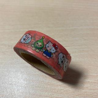ハローキティ(ハローキティ)のほくでん × ハローキティ コラボ マスキングテープ 非売品(テープ/マスキングテープ)