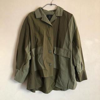 ダブルクローゼット(w closet)のwcloset デザインジャケット(ミリタリージャケット)