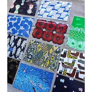 mina perhonen - ミナペルホネン 限定ポストカード 11枚☆ 皆川明 つづく展