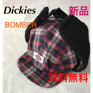 ディッキーズ(Dickies)の⭐️Dickies  BOMBER CAP⭐️可愛いチェック柄❣️(キャップ)