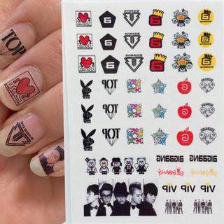 BIGBANG★ネイルシール No.② その他のその他(その他)の商品写真